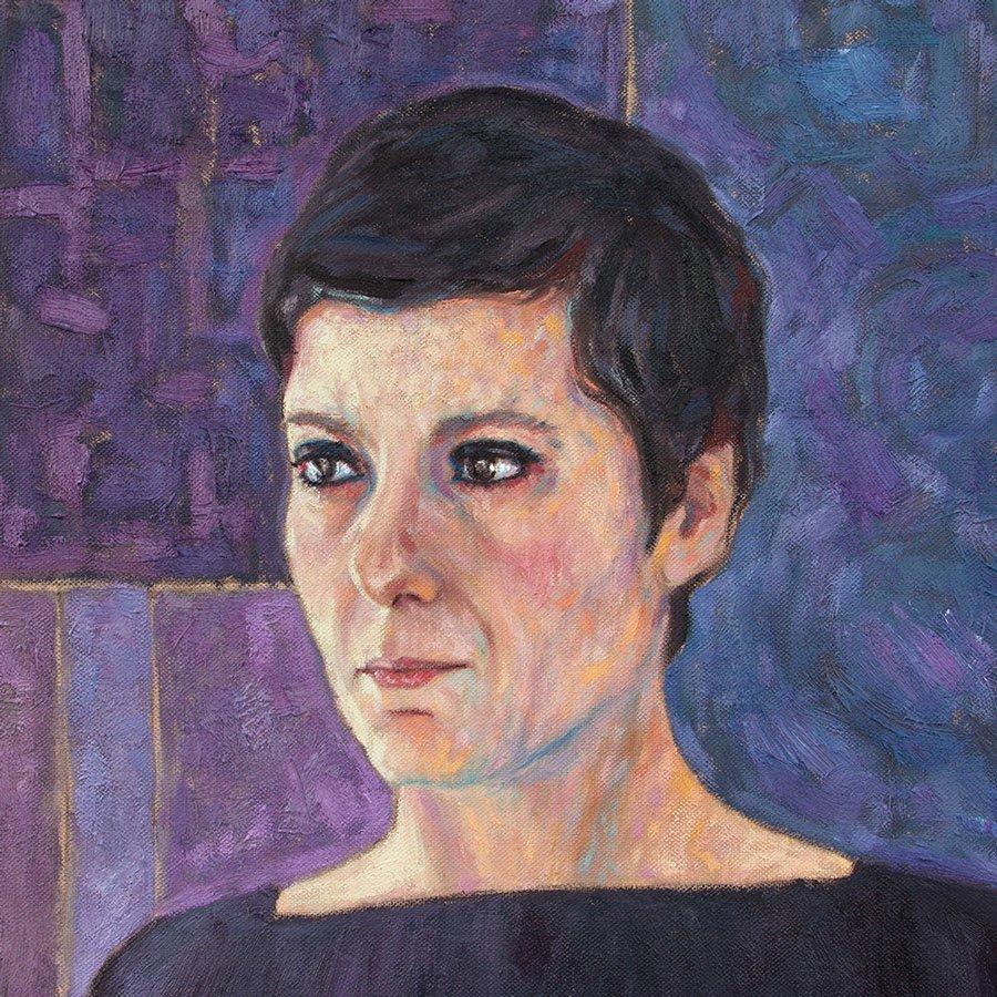 Ritratto di Patrizia Greco versione 2014, particolare