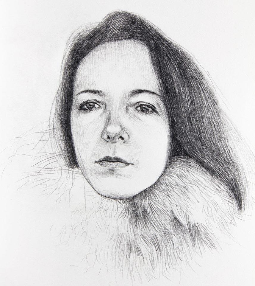 Ritratto femminile, studio