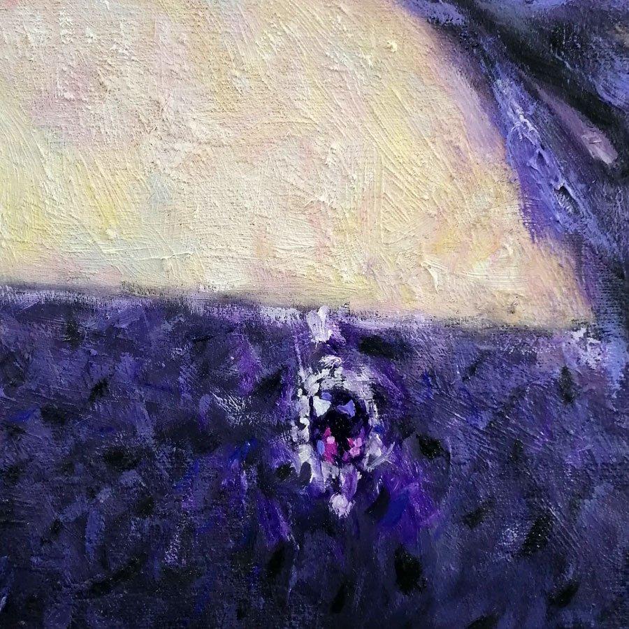 Ritratto di Alessandra Gioia, particolare del diadema