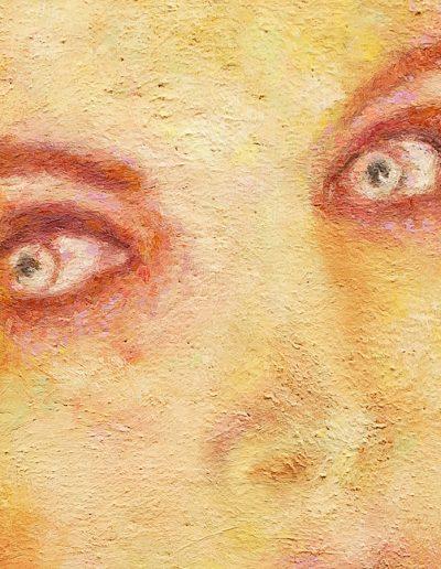 Demone Femminile II, particolare degli occhi